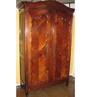 Antique Dome Top Armoire in Cherry