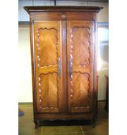 Antique Flat top Armoire