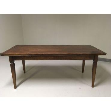 Basque leg Drawleaf Extending Table (0042-06)