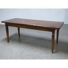 Basque leg Drawleaf Extending Table