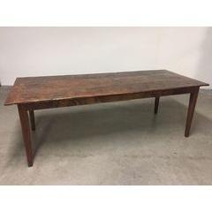 Taper Leg Farmhouse Dining table