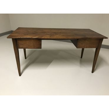 Two Drawer Desk with tapered legs