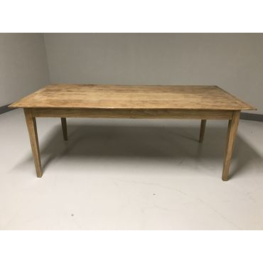 Fixed Top Farmhouse Table