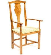 Chippendale arm chair with Pippy Oak Splat