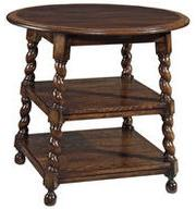 Round grog table