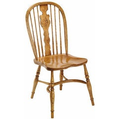 Pippy Oak Splat Windsor side chair