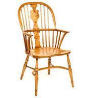 Pippy Oak Splat Windsor arm chair