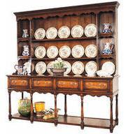 Oxford potboard dresser and rack