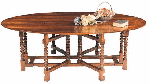 Bobbin double gateleg dining table
