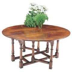 Single gateleg dining table