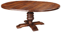Marlowe extending round dining table