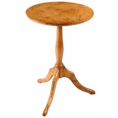 Pippy Oak round lamp table