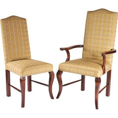 Elizabethan French Cabriole Leg Upholstered chair