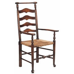 Macclesfield ladderback Arm chair