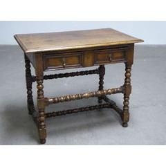 Bobbin Leg Side Table