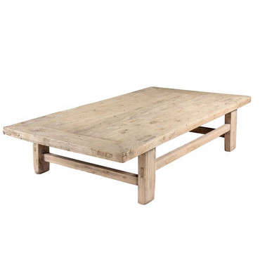 Rustic Elm Coffee Table