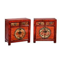 Pair of Chinese Cabinets