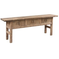 Rustic Natural Console