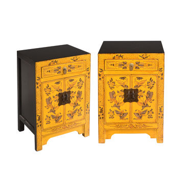 Pair of Bedsides - Yellow