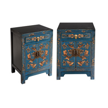 Pair of Bedsides - Blue