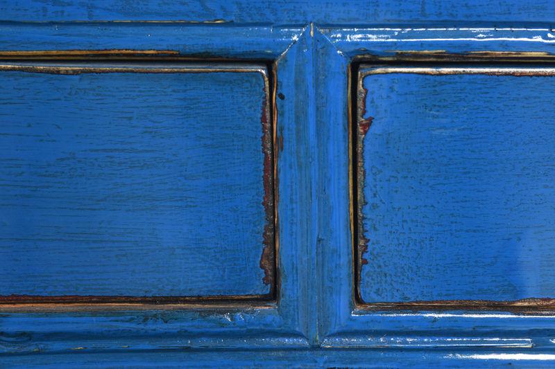2 Door Blue Painted base