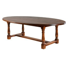 Oval Refectory Table