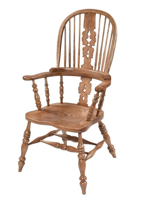 Broadarm Windsor chair