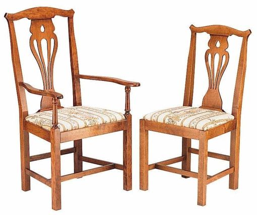 Country Chippendale chair: C343 and C345 shown