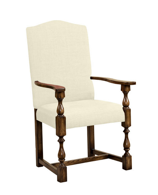 Balustrade Leg Arm Chair