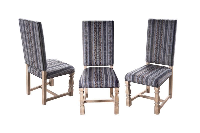 Set of 5 Tuscany Leg Side chairs