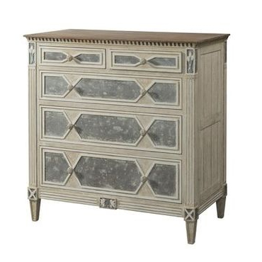 Cote D'Azur Two over Three Drawer Chest