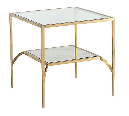 Brompton Low Square Side Table
