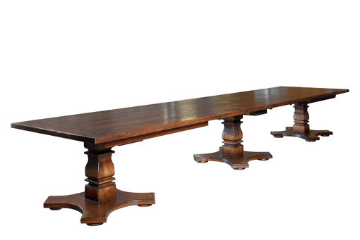 Bespoke Triple Pedestal Tuscany Table