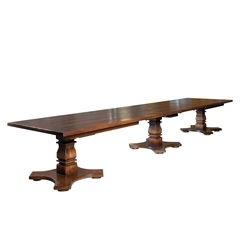 Bespoke Triple Pedestal Tuscany Table