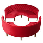 Bespoke Curved Banquette