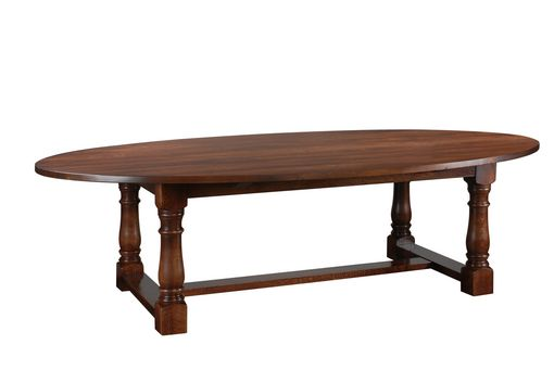 Bespoke Oval Refectory Table