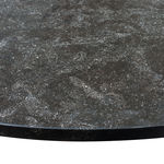 Bespoke Round table with stone top