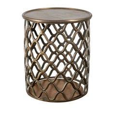 Doree Metal Side Table