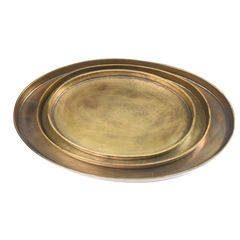 Oval Bronze Platter / Tray
