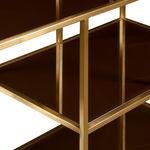 Low Art Deco Curio Shelves