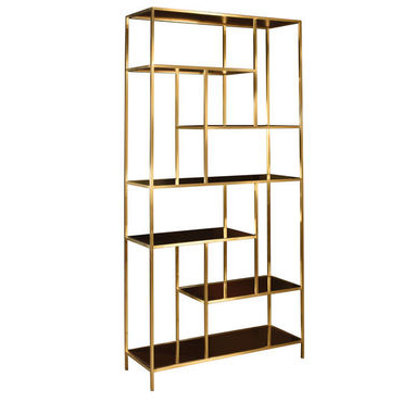 Tall Art Deco Curio Shelves