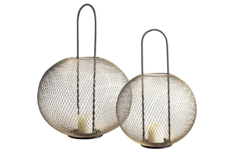 Large Olane Lantern: Small & Large lantern shown together