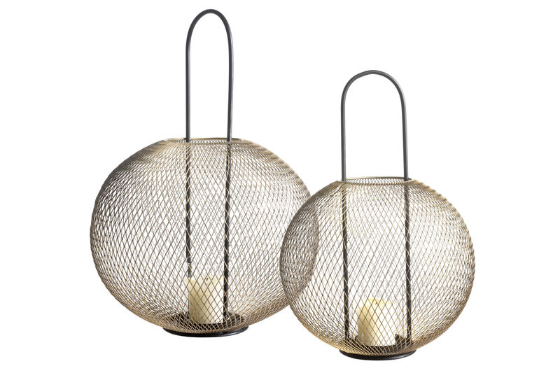 Small Olane Lantern: Small and Large Lantern shown together