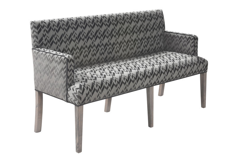 Hampton Bench with arms