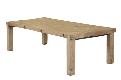 Thick Top Elm Table: Thick Top Elm Table