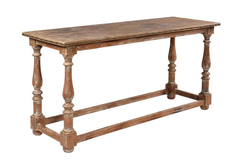 Baluster Leg Console Table