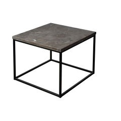 Blue Stone Top Lamp Table
