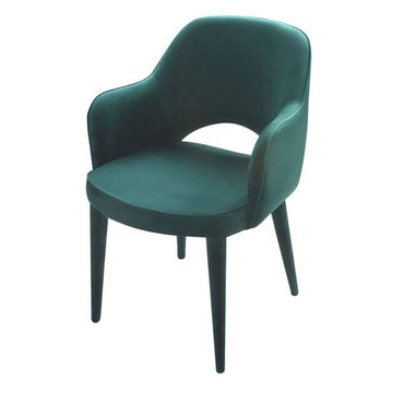Highbury Green Velvet Armchair
