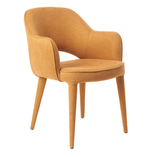 Cosy Arm Chair Ochre fabric