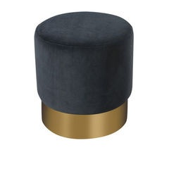Ella Stool - Dark blue